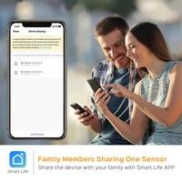 Detecteur intelligent douverture fermeture de porte  wi-fi  interrupteur magnetique  alarme de securite domestique  QJY9