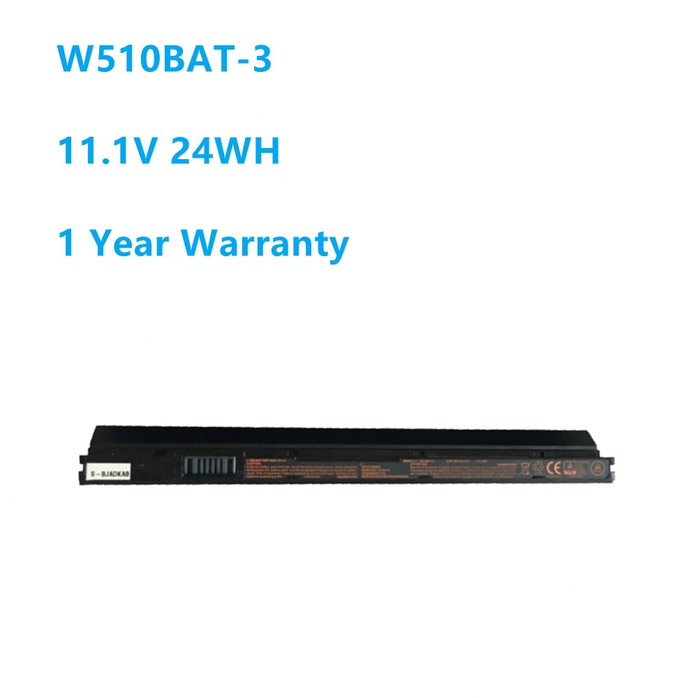 W510BAT-3 بطارية كمبيوتر محمول ل Clevo W510LU W510S W515LU 6-87-W510S 6-87-W510S-42F2 11.1V 24WH