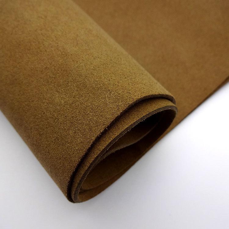 Material Ultra Tela de cuero de gamuza de microfibra de dos lados de 1,4 MM de espesor
