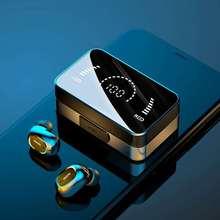 tws wireless  bluetooth headphones earbuds ps4 games sport noise canceling headphone headphones with