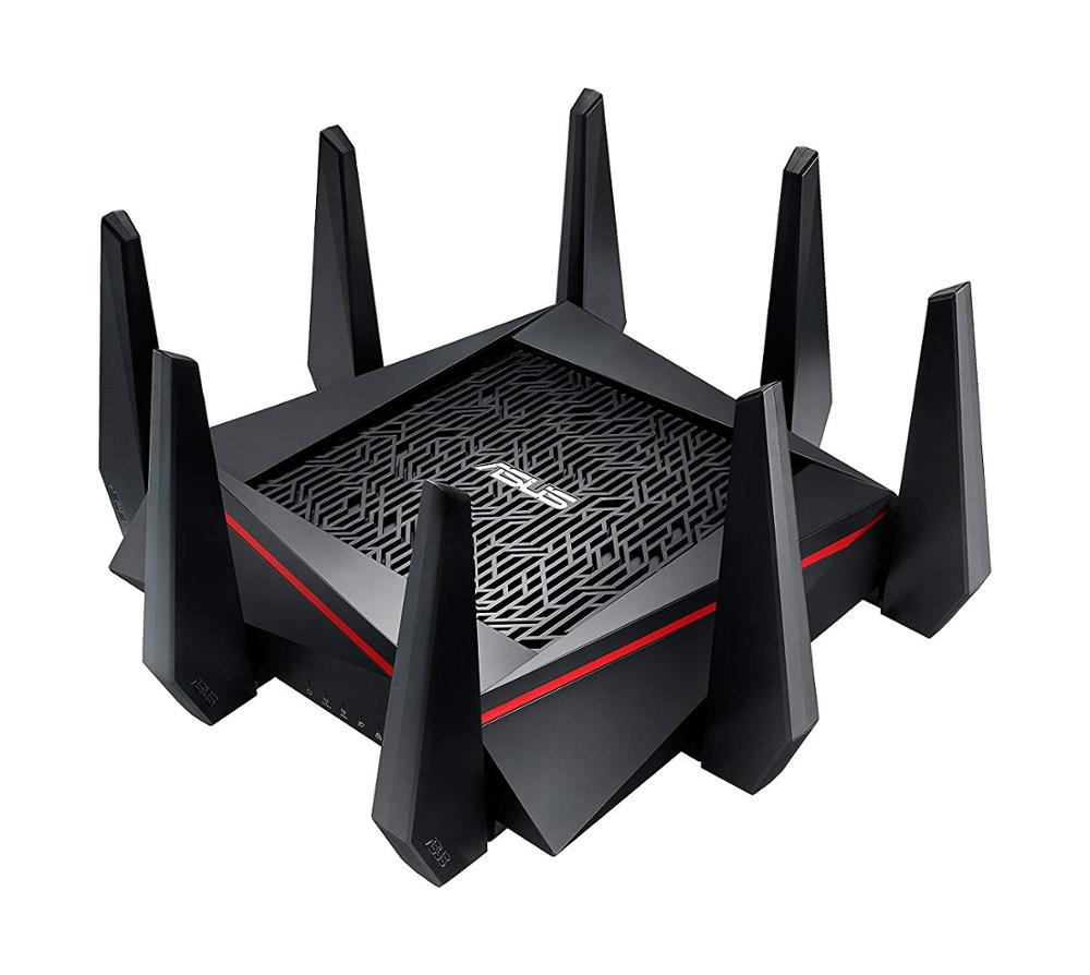 ASUS-enrutador RT-AC5300 AC5300 para videojuegos, wifi, tribanda, 1200mbps, MU-MIMO, AiMesh