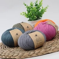 3pcs 50gball wool yarn handwoven diy sweater scarf hat thick knitting knitting wool ball