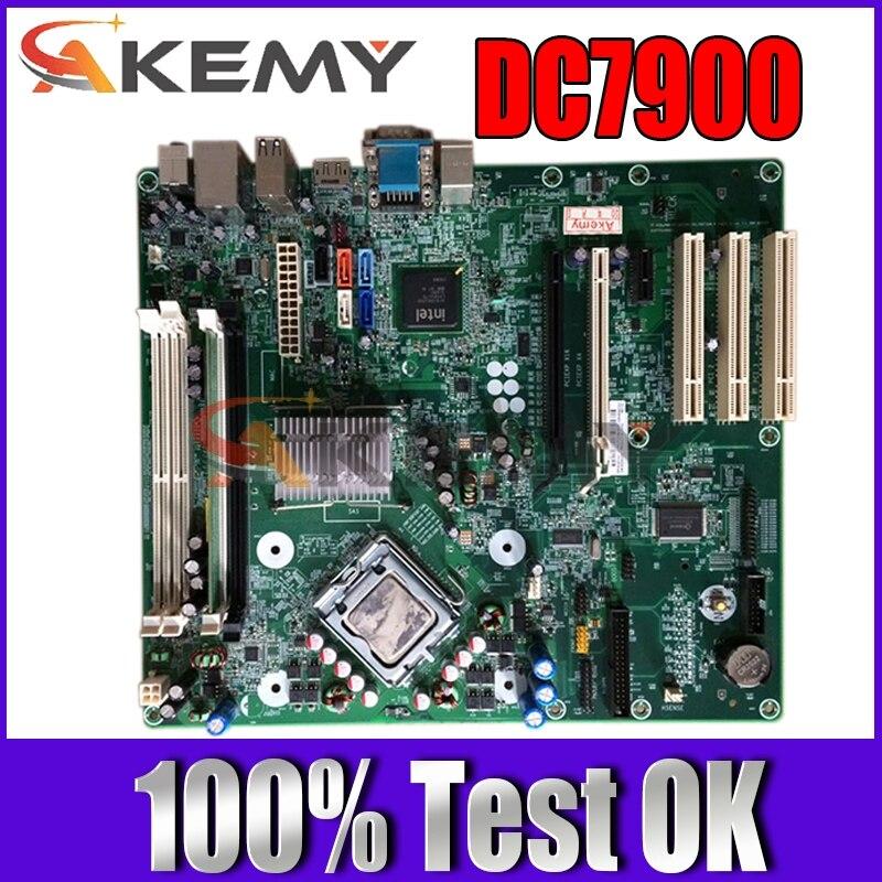 لوحة أم Akemy للكمبيوتر المكتبي HP DC7900 Q45 460963-002 462431-001 DDR2 لوحة رئيسية 100% تم اختبارها