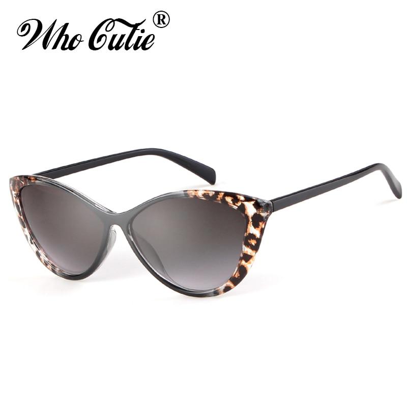 Moda na moda gato olho óculos de sol feminino 2019 design da marca vintage retro leopardo quadro óculos de sol das mulheres 60s 70s 80s s105