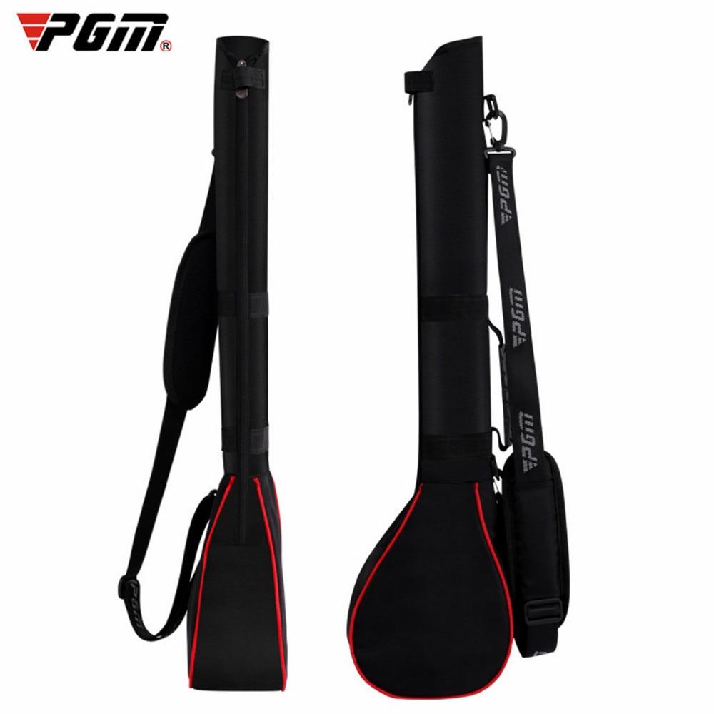 Bolsas de Golf PGM, bolsa de pistola de Golf para práctica al aire libre, bolsa de pistola de Golf de diseño plegable, 3 Clubs portátiles para hombres y mujeres, paquete de pelota deportiva