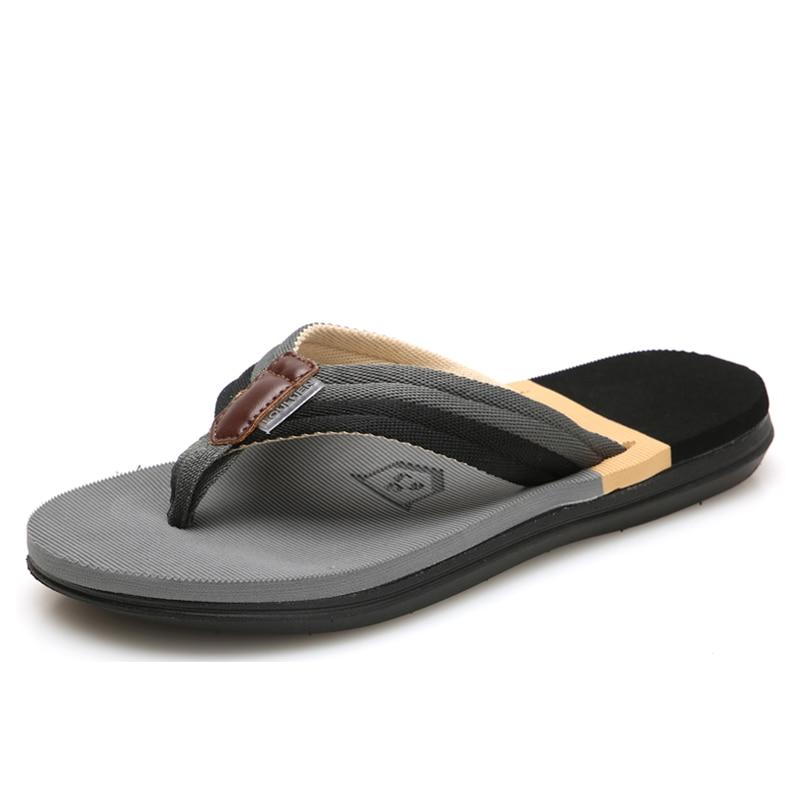 2021 Summer New Student Couple Flip Flop Beach Shoes Men Outdoor Leisure Non-slip Flip Flops Size 36-45