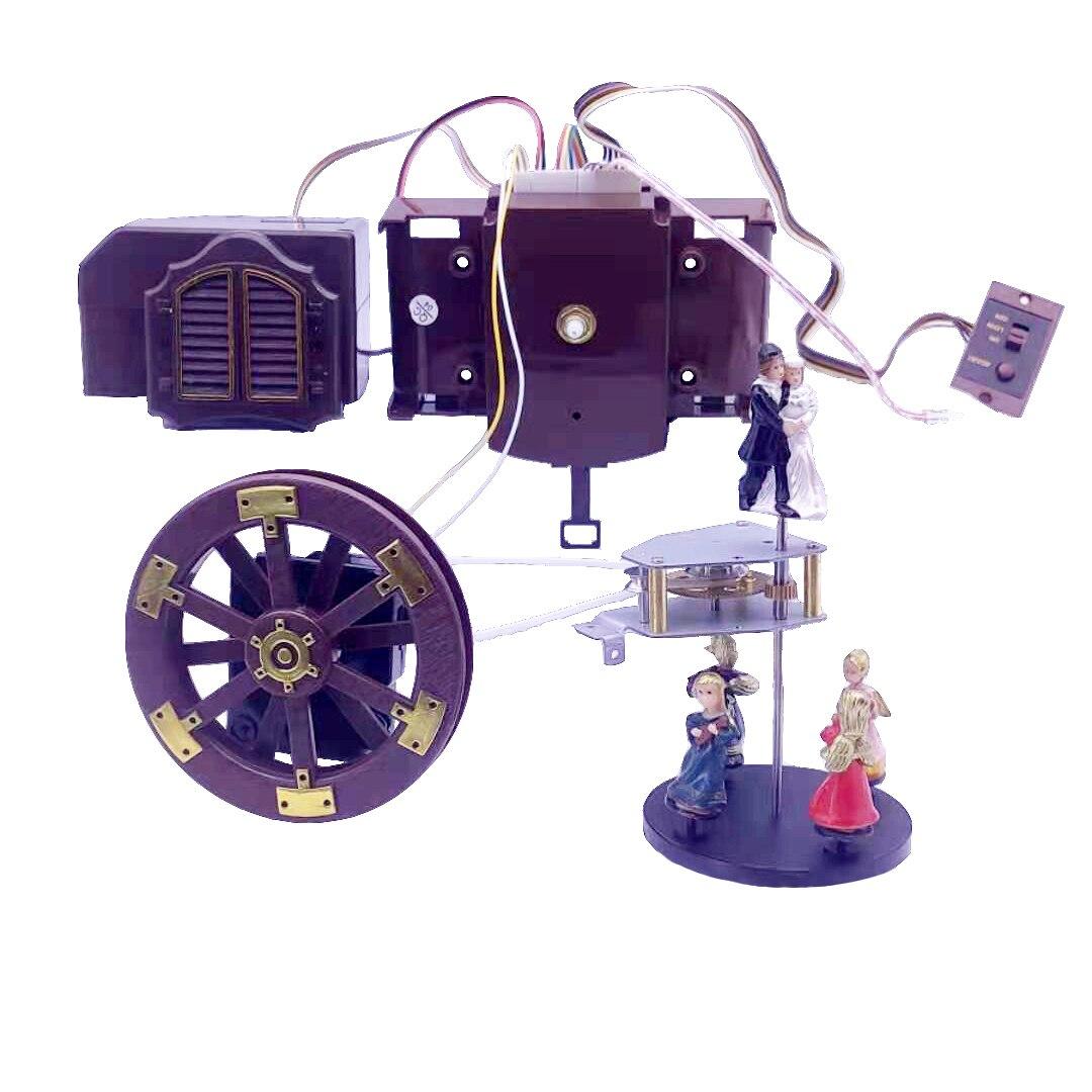 Часы с кварцевым механизмом Vaadake, креативные настенные электронные часы с подсветильник кой, часовым механизмом, точкой на каждый день