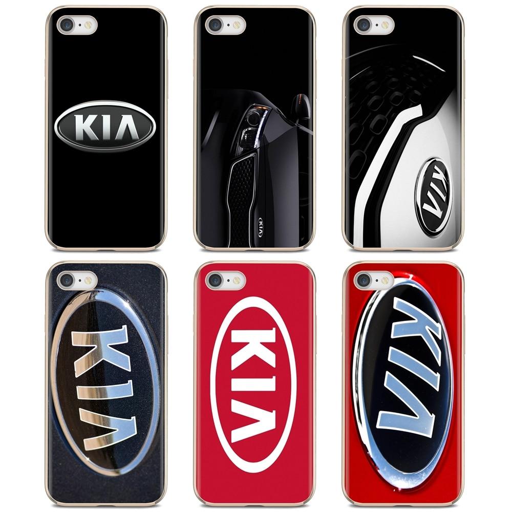For Samsung Galaxy Note 2 3 4 5 8 9 S2 S3 S4 S5 Mini S6 S7 Edge S8 S9 Plus Online Silicone Phone Case Kia Logo Korean Car Brands