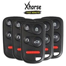 KEYECU – clé télécommande universelle à 5 boutons Xhorse, pour Honda Style VVDI VVDI2, 5x (Version anglaise)