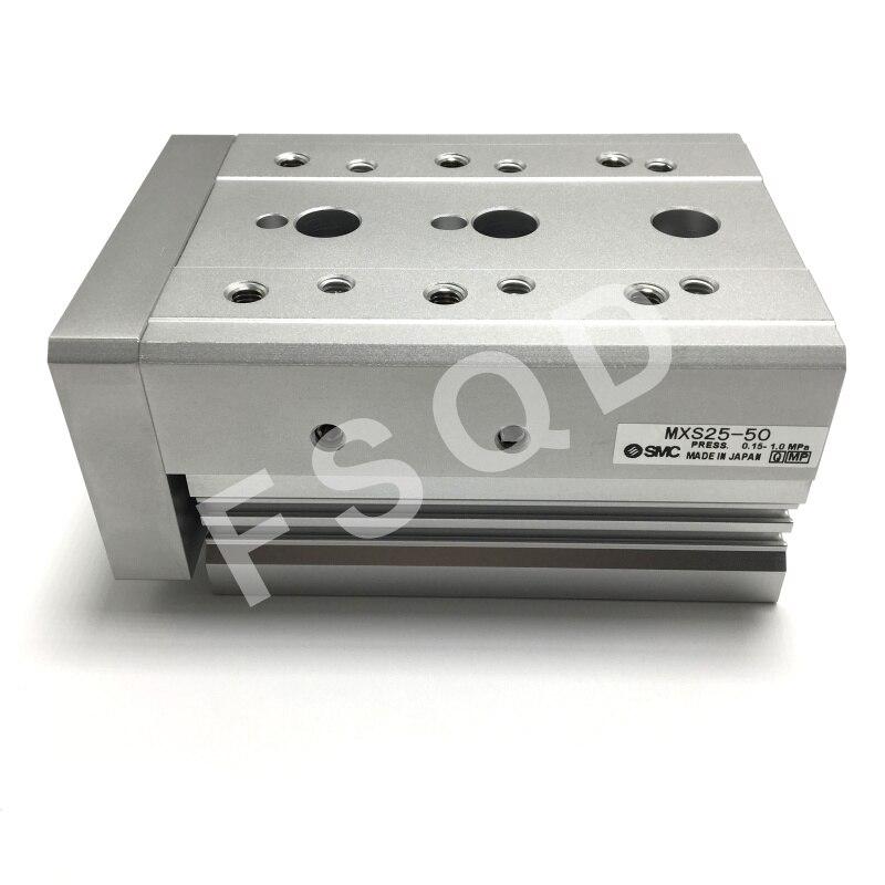 MXS25-10 MXS25-20 MXS25-30 MXS25-40 MXS25-50 SMC air slide table cylinder pneumatic component MXS series