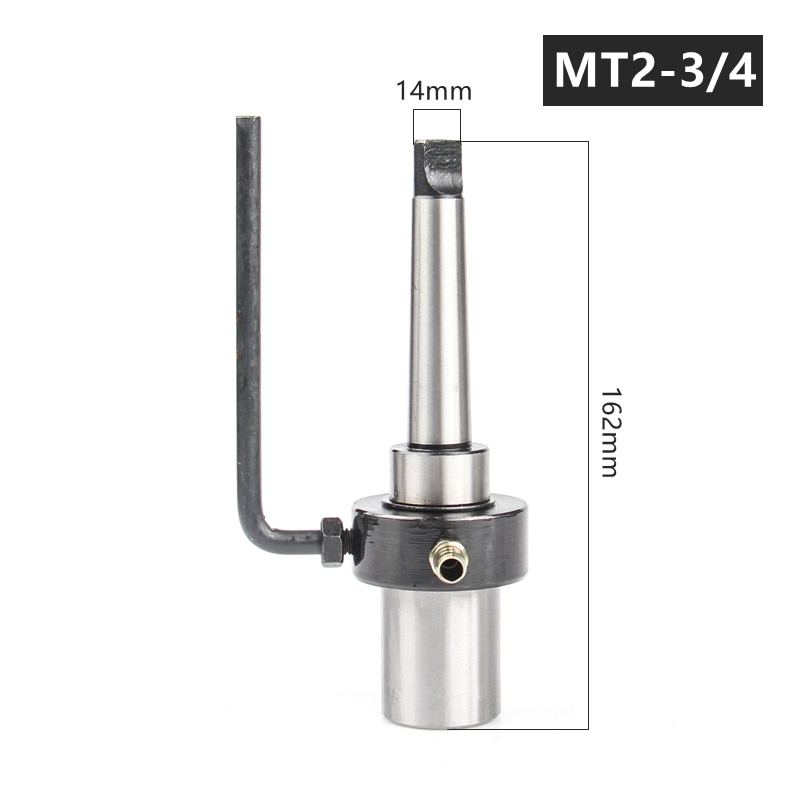 versery Morse Taper Arbor MT2/MT3 For Annular Cutter Hollow Drill Bit Clamp Chuck Magnetic Drill Extension Drilling Tool Holder enlarge