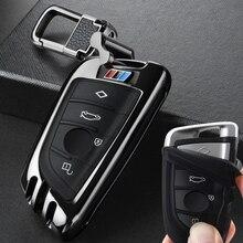 Étui à clés de voiture BMW F15 F16 F48 E53 E70 E39 F10 F30 G38 525 540 740 1 2 5 7 série 218i X3 1x1