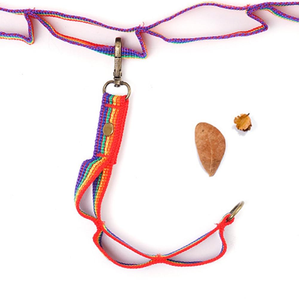 2 pçs ao ar livre tenda pendurar corda multiuso colorido cordão cabo engrenagem de acampamento