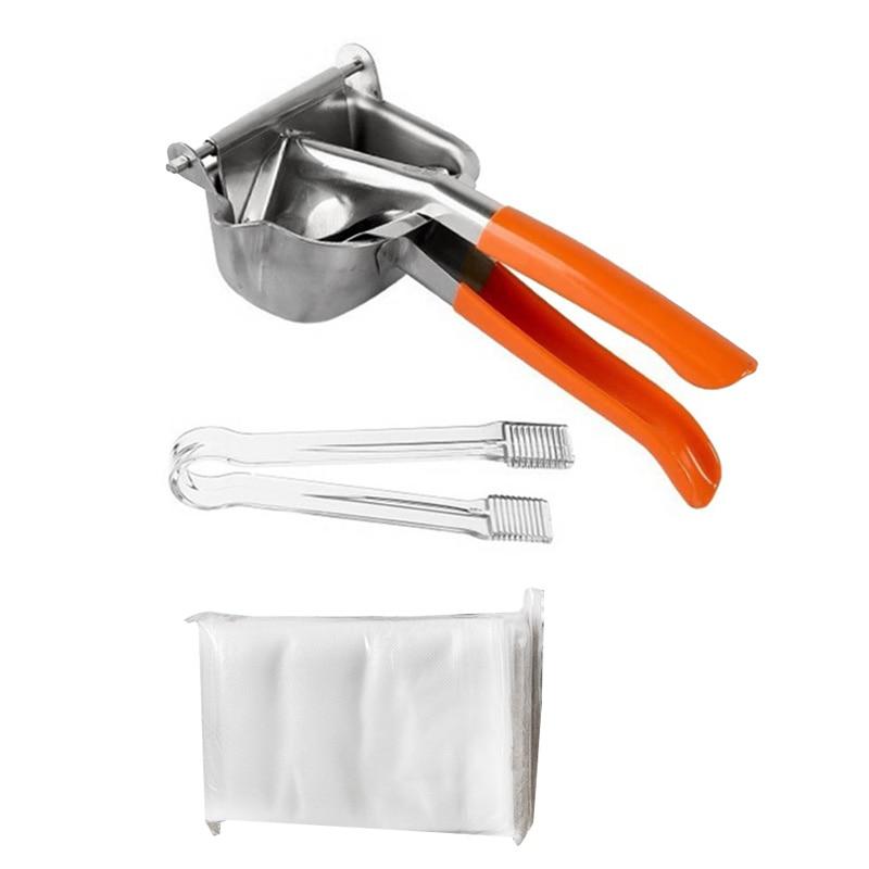 عصارة يدوية من الفولاذ المقاوم للصدأ عصارة ليمون عصير الرمان البرتقال عصير قصب السكر أدوات المطبخ الفاكهة