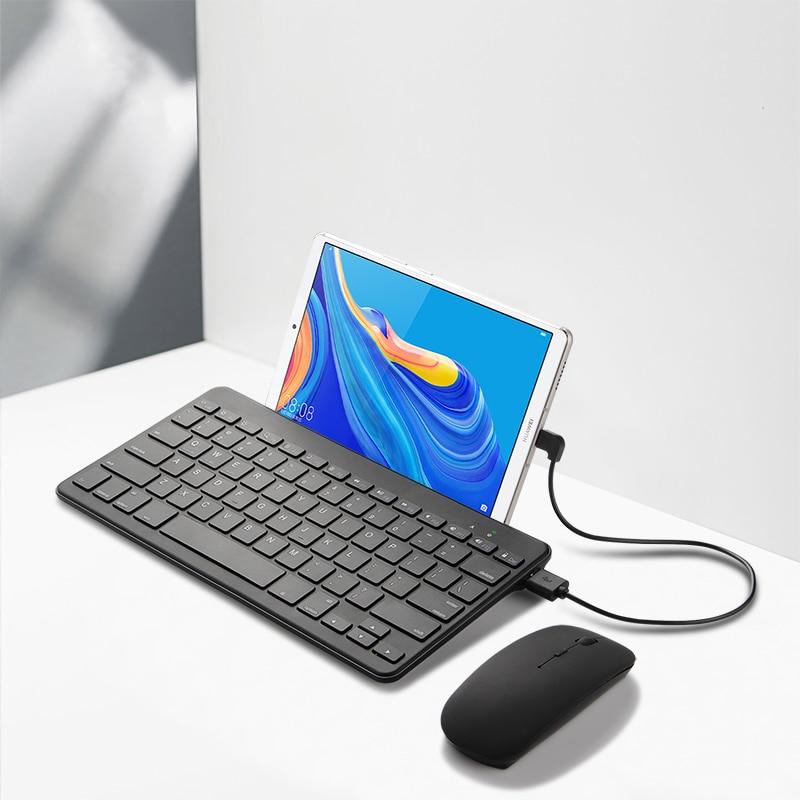 لوحة مفاتيح سلكية صغيرة رفيعة للغاية لـ ALLDOCUBE iplay 10 pro M5 M5X M5X Pro M5S M5xs ، لوحة مفاتيح سلكية مع حامل