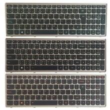 Clavier dordinateur portable pour Lenovo Ideapad Z500 Z500A Z500 Z500G P500 royaume-uni/canadien français CF/traditionnel chinois TW clavier rétro-éclairé