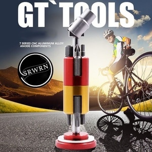 Bicycle Invisible Chain Cutter Repair Toosl Set Multi Portable Kit Hexagon Screwdriver Crank T25 Wrench Chain Rivet Mountain 1