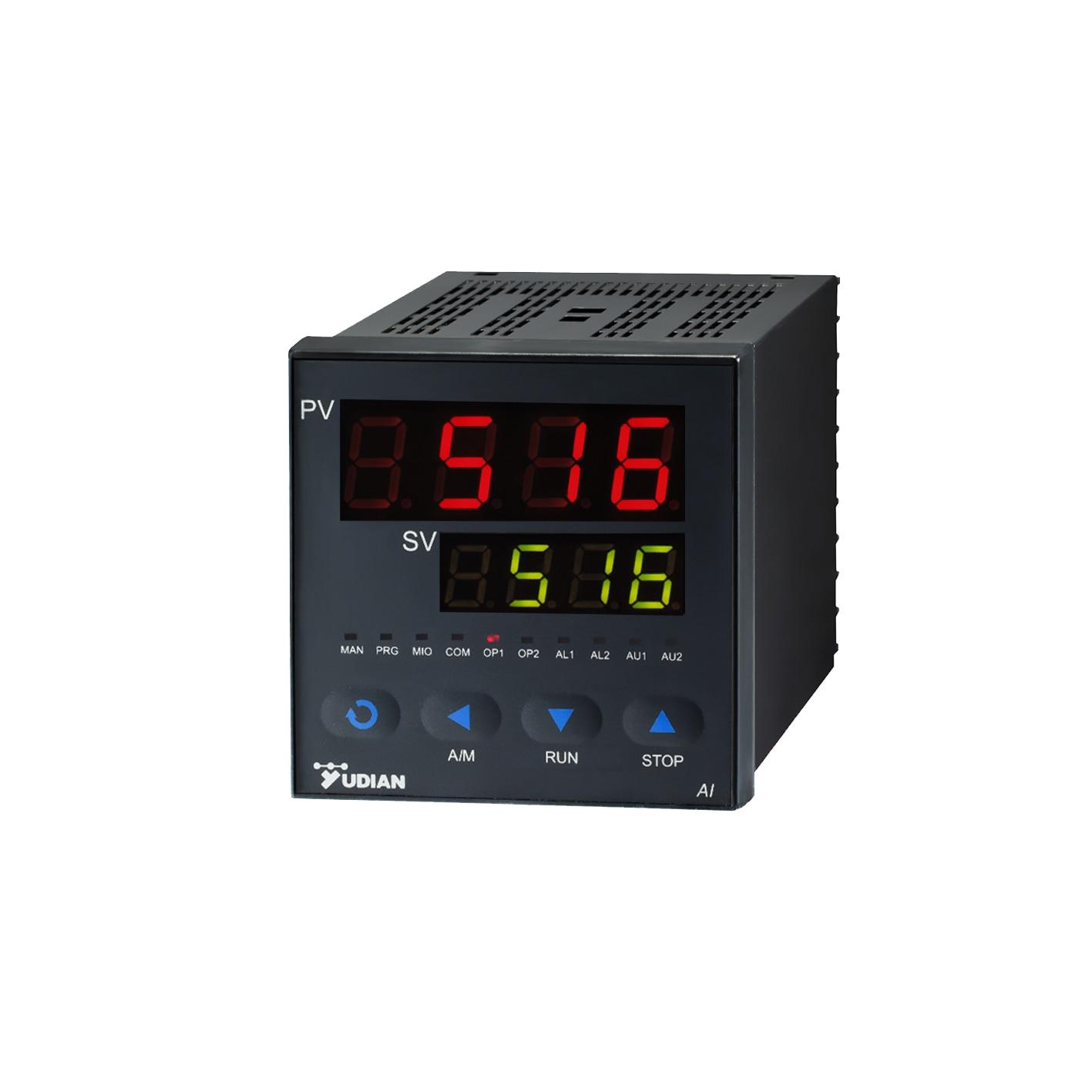 Yudian ذكي متحكم في درجة الحرارة AI-516 ترموستات عالية الدقة وحدة تحكم في درجة الحرارة PID متحكم في درجة الحرارة AI-516D2 AI-516A AI-516D7
