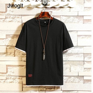 Summer Casual Short Sleeve Mens T Shirt Daily Wear Fashion O Neck Solid Colors Cotton Black White Navy Gray Tops Tees