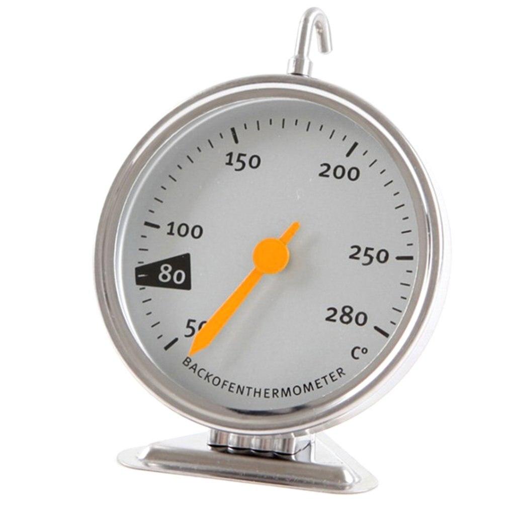 Horno eléctrico de cocina, termómetro mecánico para hornear, herramienta para horno, 50-280 grados centígrados