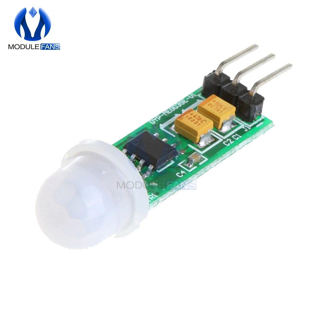 HC-SR505 SR505 Mini Módulo Sensor para placa Arduino cuerpo Sensor humano Módulo Sensor modo Sensor Mini-cuerpo interruptor nuevo