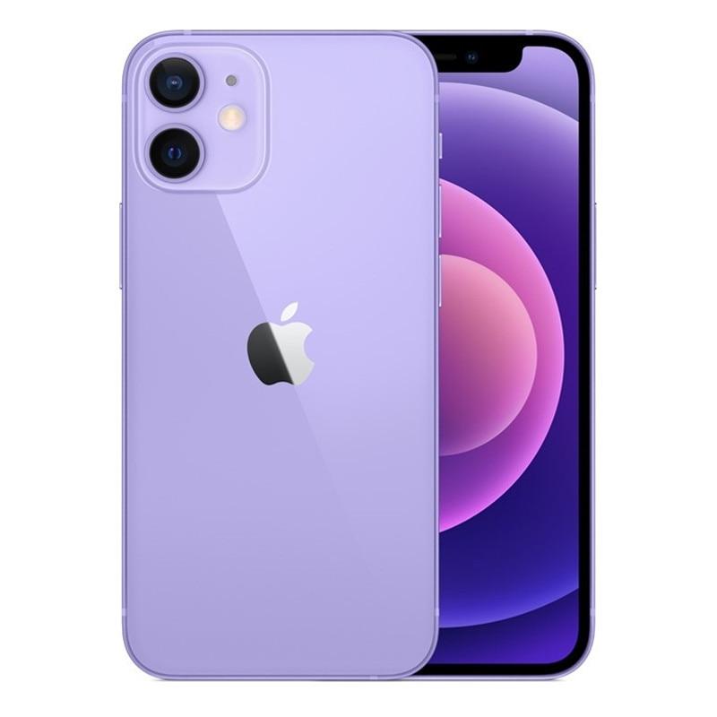 Перейти на Алиэкспресс и купить IPhone 12 Mini IOS разблокирована б/у 5G смартфон A14 бионические приманки для рыбной ловли 64/128/256G двойной 12MP камера 5,4 ''дюймовый сенсорный экран для м...