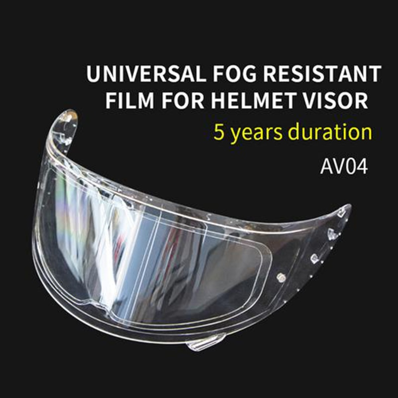 Helmet Clear Lens Anti-Fog Patch Film Motorcycle Antifog Lens Patch Visor Lens Sticker Motorbike Helmet Accessories