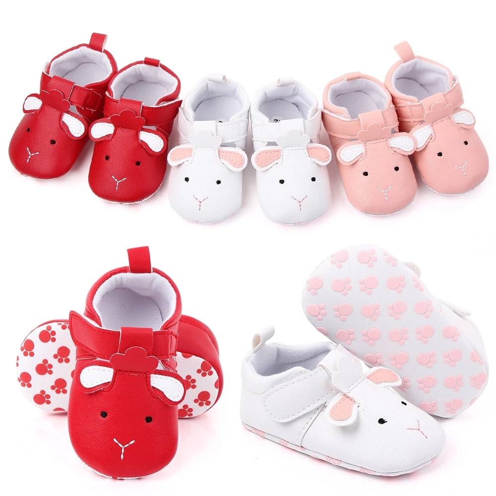 2020 Baby Shoes Soft Sole  Baby Girl  Shoes  Anti-Slip First Walker Baby Girl Shoes New
