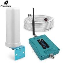 4G répéteur 4G 2600Mhz 800/900/1800/2100/2600/Mhz 2G 3G répéteur de téléphone portable amplificateur amplificateur de Signal cellulaire Kit dantenne Omni
