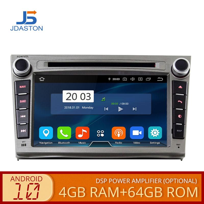 JDASTON Android 10,0 reproductor Multimedia para Auto SUBARU OUTBACK 2008-2013 WIFI GPS estéreo audio de coche DVD Video 2 Din coche Radio 4GB