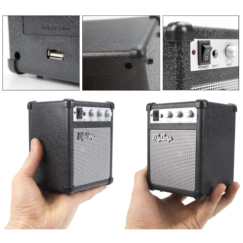 Retro Replica Guitar Amplifier High Fidelity / My Amp o Portable Speaker / Amp o Mini Guitar Speakers Bass Stereo enlarge