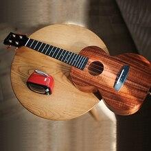 Enya Ukulele K1 Feste Koa Ukulele 23 zoll 26 zoll kleine gitarre konzert Tenor mit Tasche 4 String Gitarre Musical instrumente