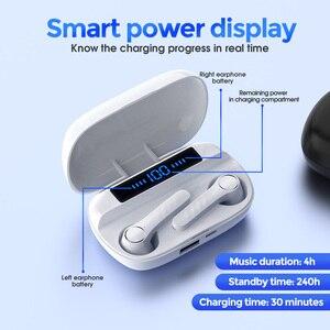 tws Wireless Headphones Bluetooth5.0 Earphones sport Earbuds waterproof In-ear With MicCharging 9D Stereo bass Headset for phone