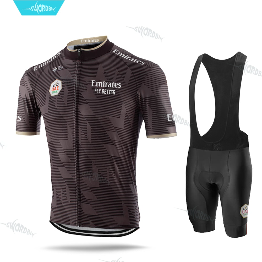 Командный Комплект Джерси для велоспорта Miglia Uae Tour Emirates, велосипедная форма, новинка, комплект рубашек для велоспорта, Ropa Ciclismo, велосипедная ...