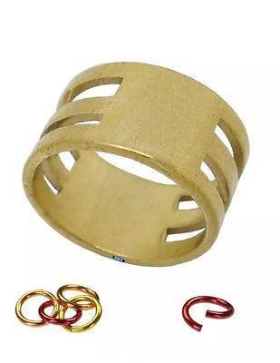 Brass Jump Rings Close/Open Tool Jewelry Making Supply Split Rings Tool Ring Open Tool Jewelry Finding Helper