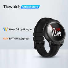 TicWatch E2 (Восстановленный) Wear OS от Google Смарт-часы GPS iOS и Android 5ATM Водонепроницаемая батарея для мужчин/женщин Sportswat