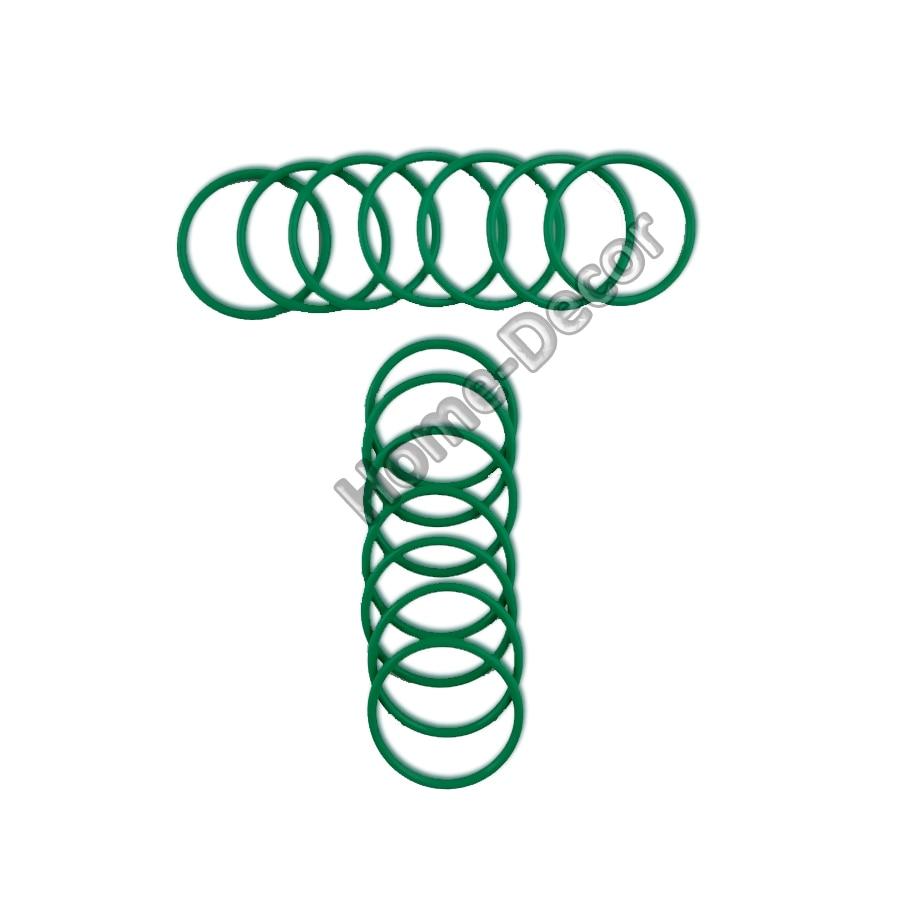 2 uds. Junta tórica de goma de flúor FKM resistente al aceite al calor 3,5 (diámetro del alambre) 56-200mm para sellado de aceite, resistente al agua