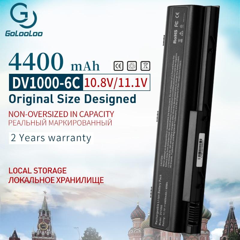 11,1 v 4400mAh batería para HP Pavilion G3000 G5000 dv5000 dv1000 dv4000...