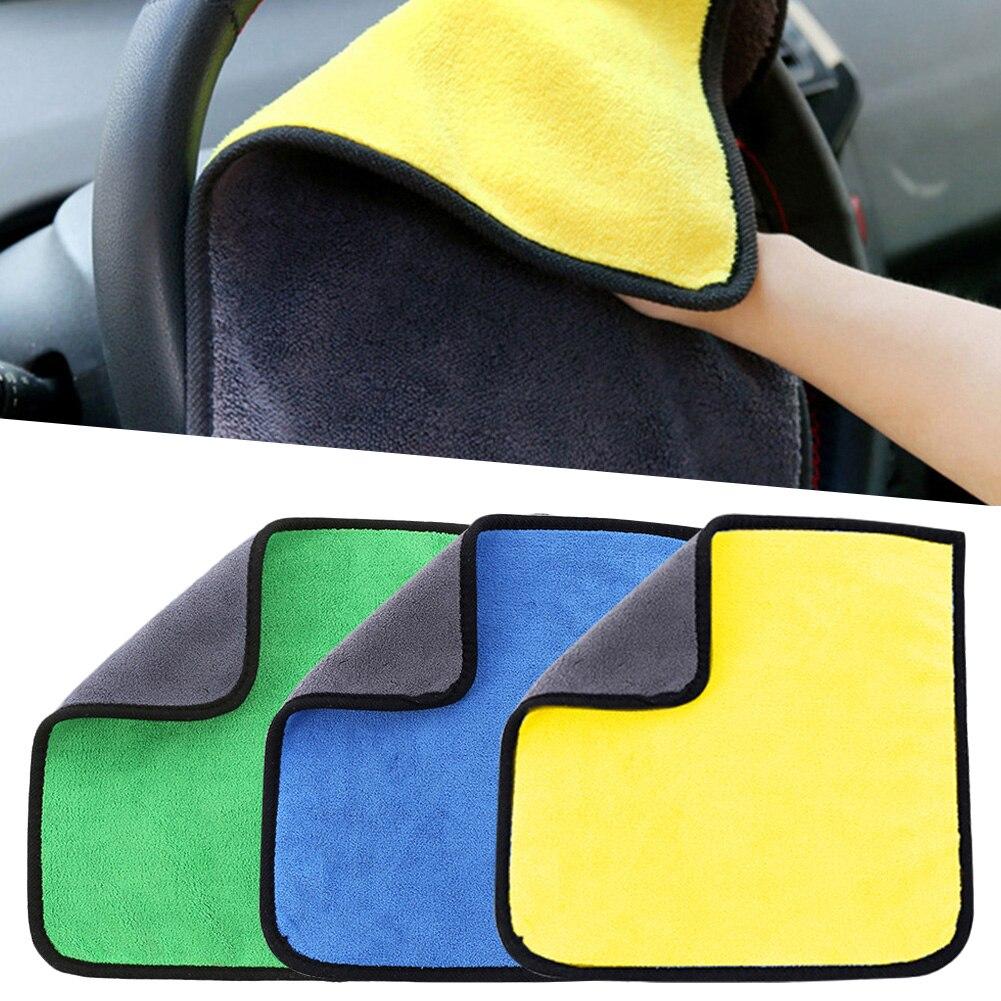 Новые супервпитывающие полотенца для чистки автомобиля, быстросохнущие полотенца из микрофибры, супервпитывающие салфетки для мытья авто...