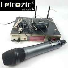 Leicozic 300g3 True Diversity wireless mikrofon systeme handheld + bodypack headset lavalier-mikrofone revers ew300 335g3