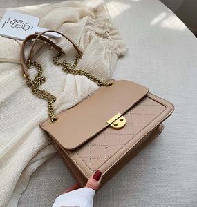 Elegant Female Plaid Tote Bag 2020 Fashion New High Quality Women's Designer Handbag Lock Chain Shoulder Messenger Bag bolsos