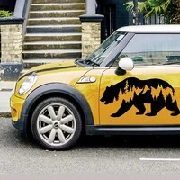 cool design animal forest car decal vinyl sticker auto laptop car door and stickers hood
