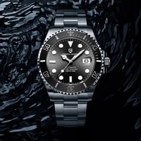 pagani design mens watches top brand luxury mechanical automatic watch men nh35 sport 100m waterproof clock relogio masculino