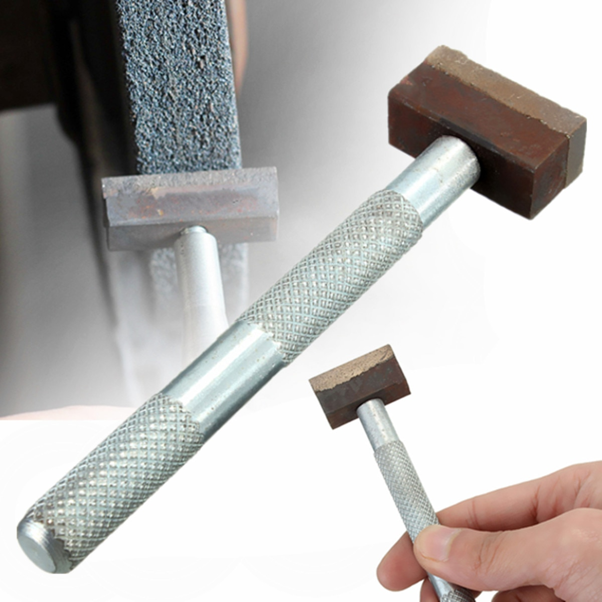 Broca de diamante doersupp, 1 peça, pedra de disco para esmerilhamento, ferramenta cômoda, bancada