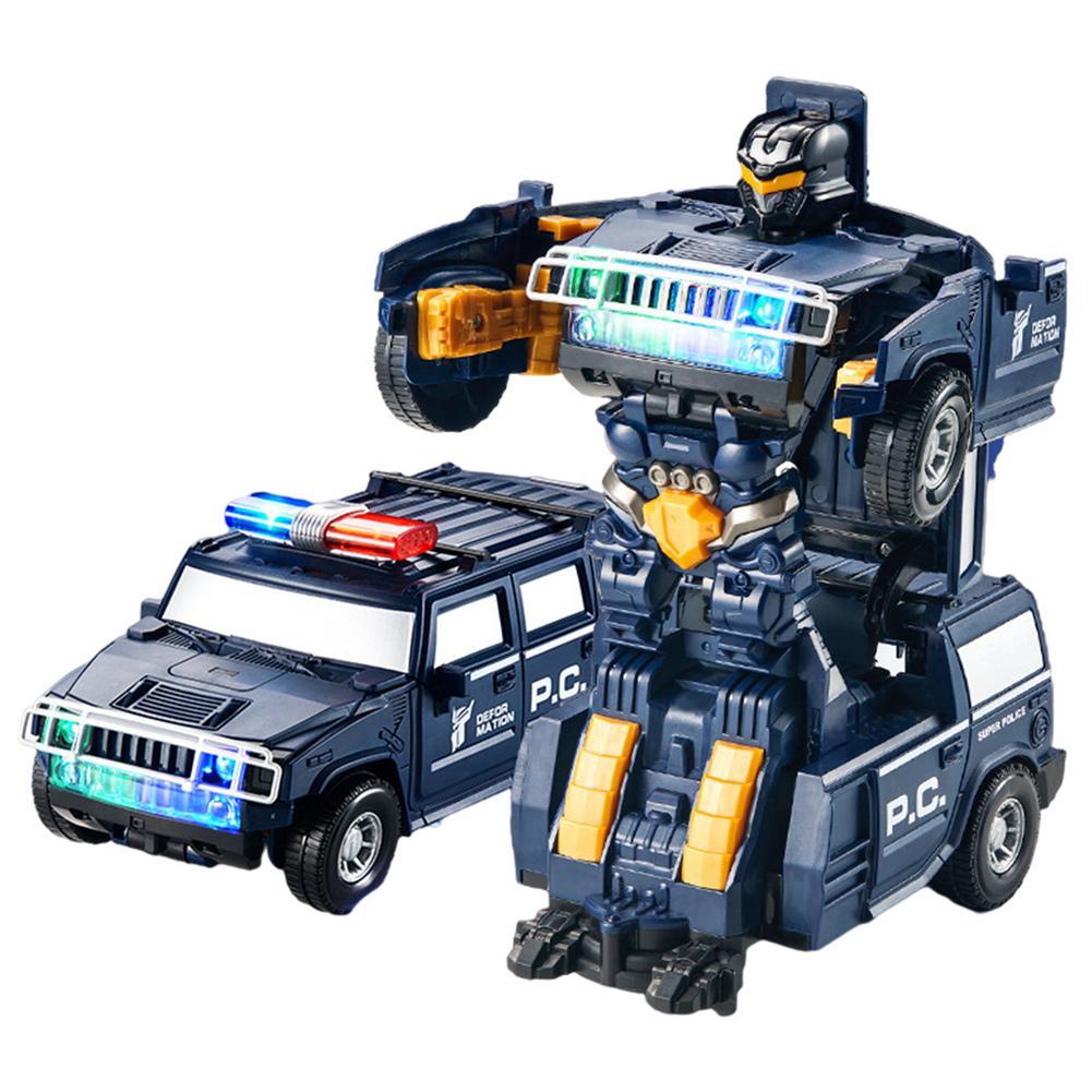 Детский Радиоуправляемый автомобиль, роботы-трансформеры, детские игрушки для мальчиков, спортивный деформационный автомобиль с дистанци...