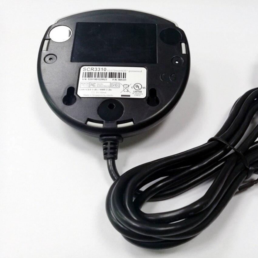 SCR3310 Smart Card Reader Multi-Function USB 2.0 Memory Card Reader for ID Card,IC Bank Chip Card for Data Transmission enlarge