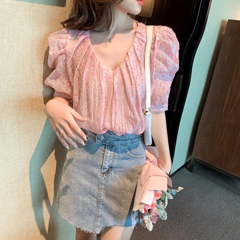 women blouses 6251#