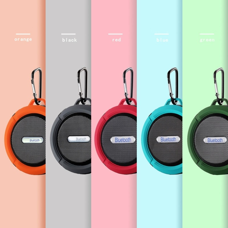 Mini Wireless Speaker Bluetooth Portable Suction Cup Handsfree Waterproof HIFI Stereo Bass For Bathroom Poor Car Beach Outdoor enlarge