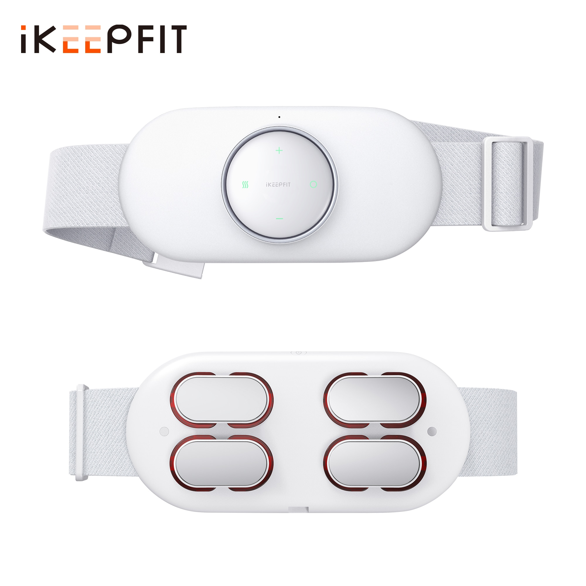 ikeepfit-smart-wireless-waist-massager-electric-lumbar-abdominal-massage-heating-low-frequency-pulsed-infrared-light-relief-pain