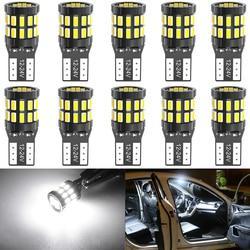 10 stück LED T10 W5W LED Canbus Auto Innen Lichter für Volkswagen Polo Golf 4 5 6 7 GTI Passat b6 B5 JETTA MK5 MK6 CC Touareg